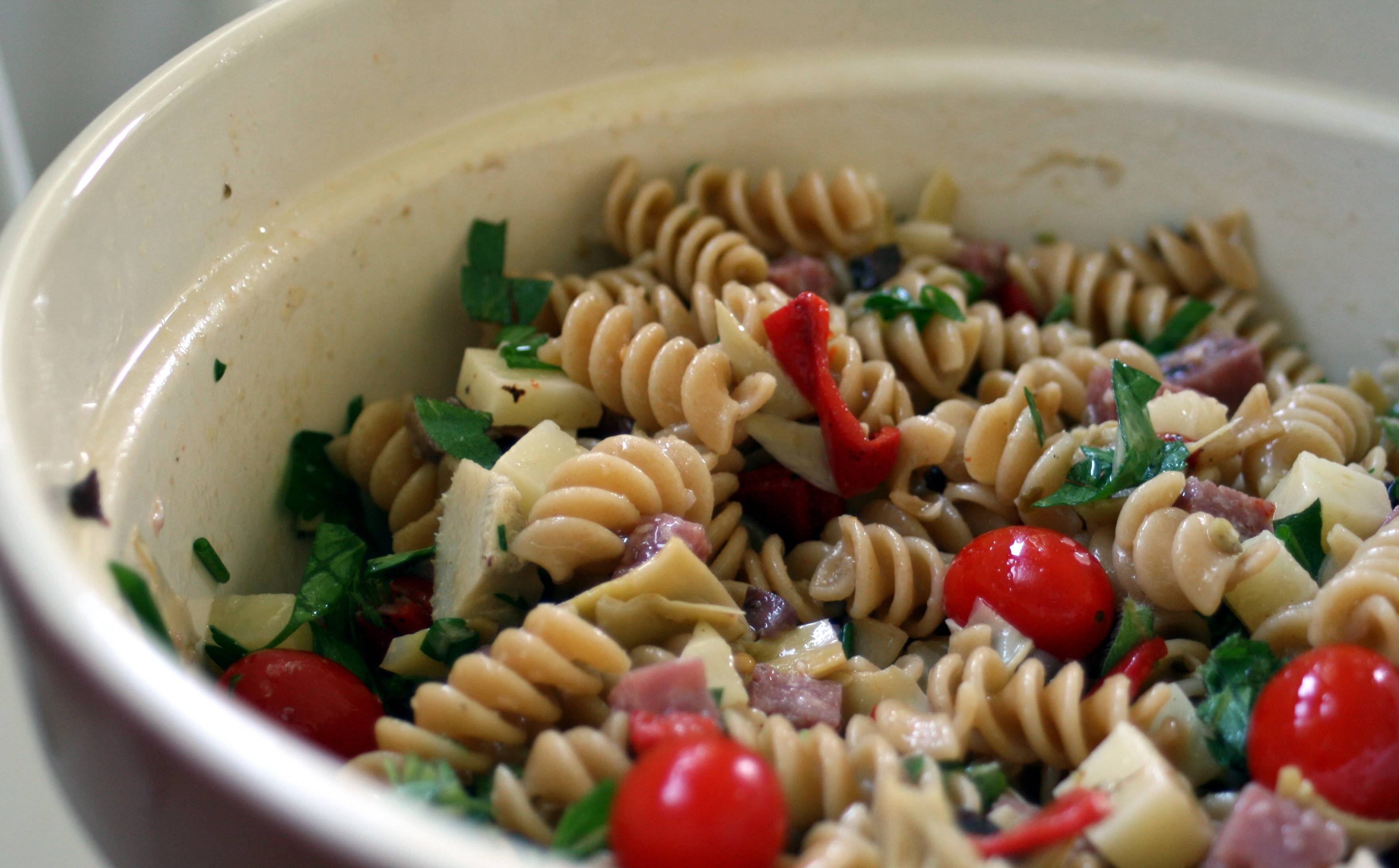 Antipasta salad | Tallgrass Kitchen