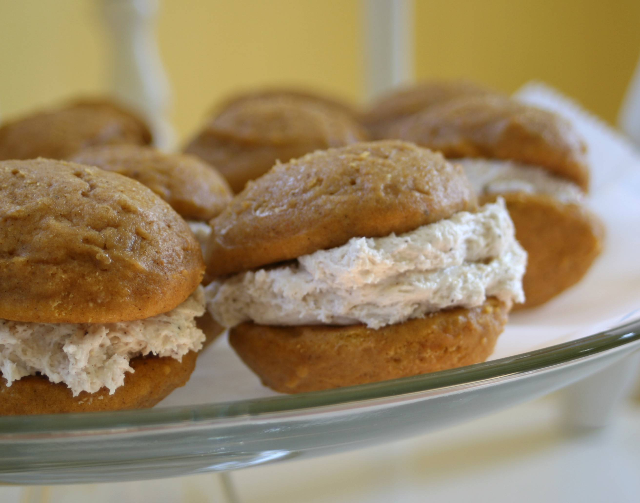 Pumpkin Whoopie Pies with Browned Butter Filling | Tallgrass Kitchen