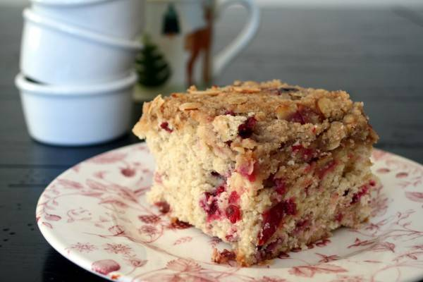 much cranberry coffee cake mary anne here but i made the coffee cake ...